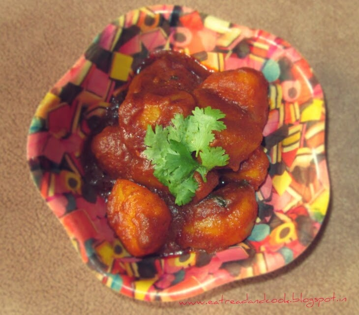 how to cook bengali style dum aloo or aloor dom