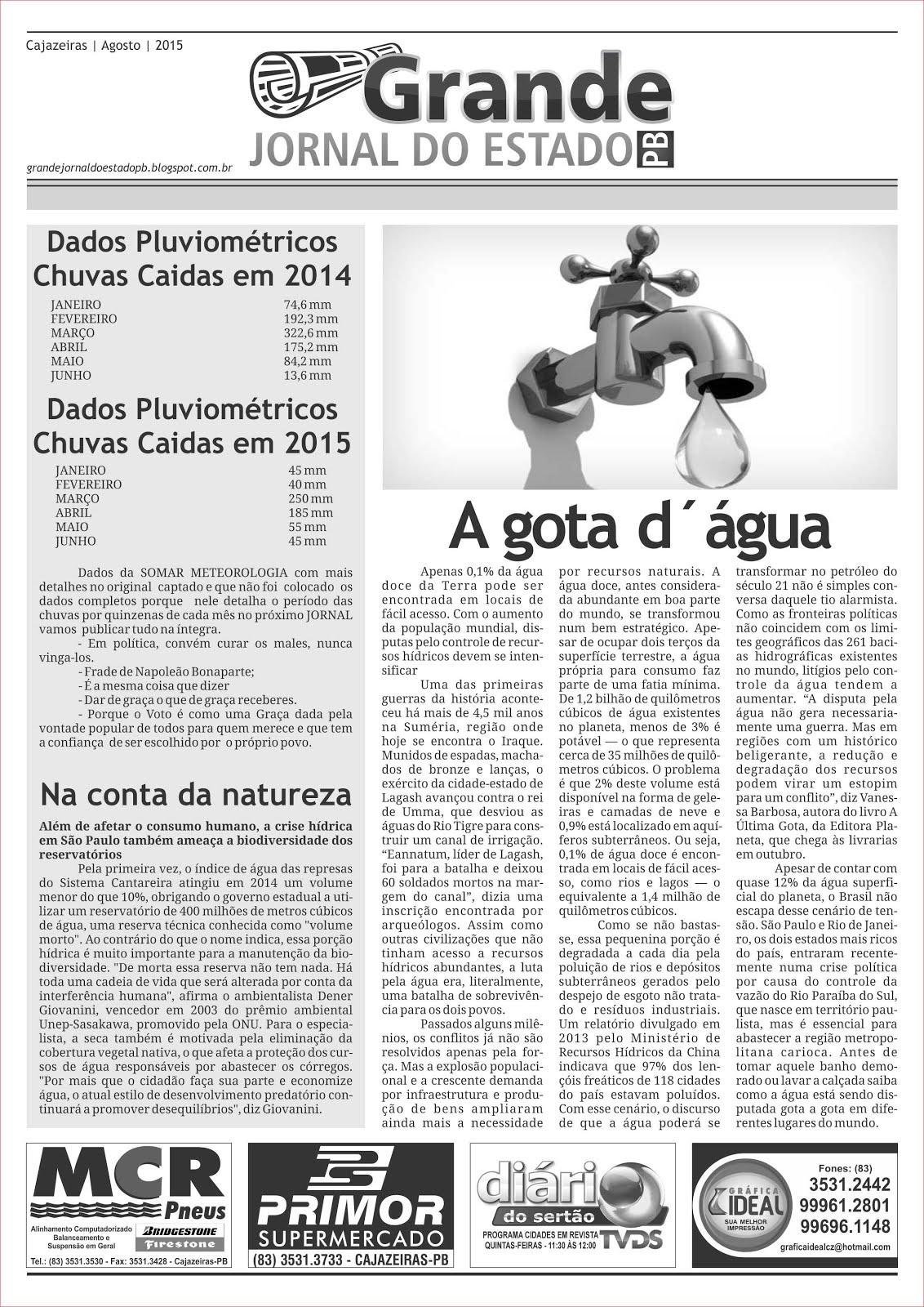 O  ORIGINAL  GRANDE JORNAL DO ESTADO  DE  CLASSFICADOS