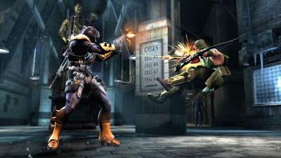 Injustice Gods Among Us Gameplay