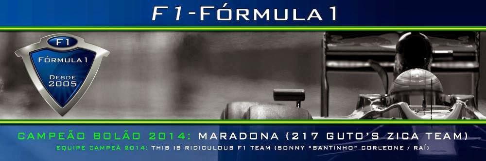 F1 - Fórmula 1