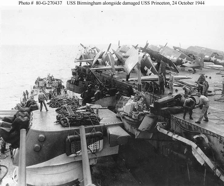 Naval Warfare: USS Princeton (CV-23, CVL-23)
