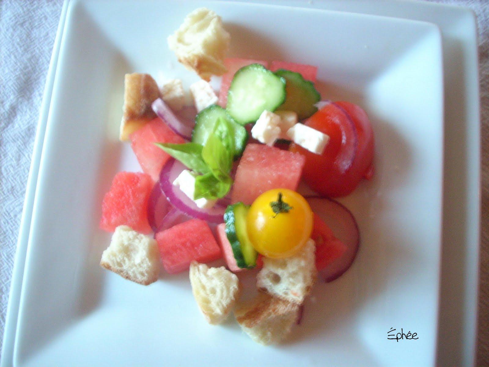 Salade de past que - Salade de pasteque ...