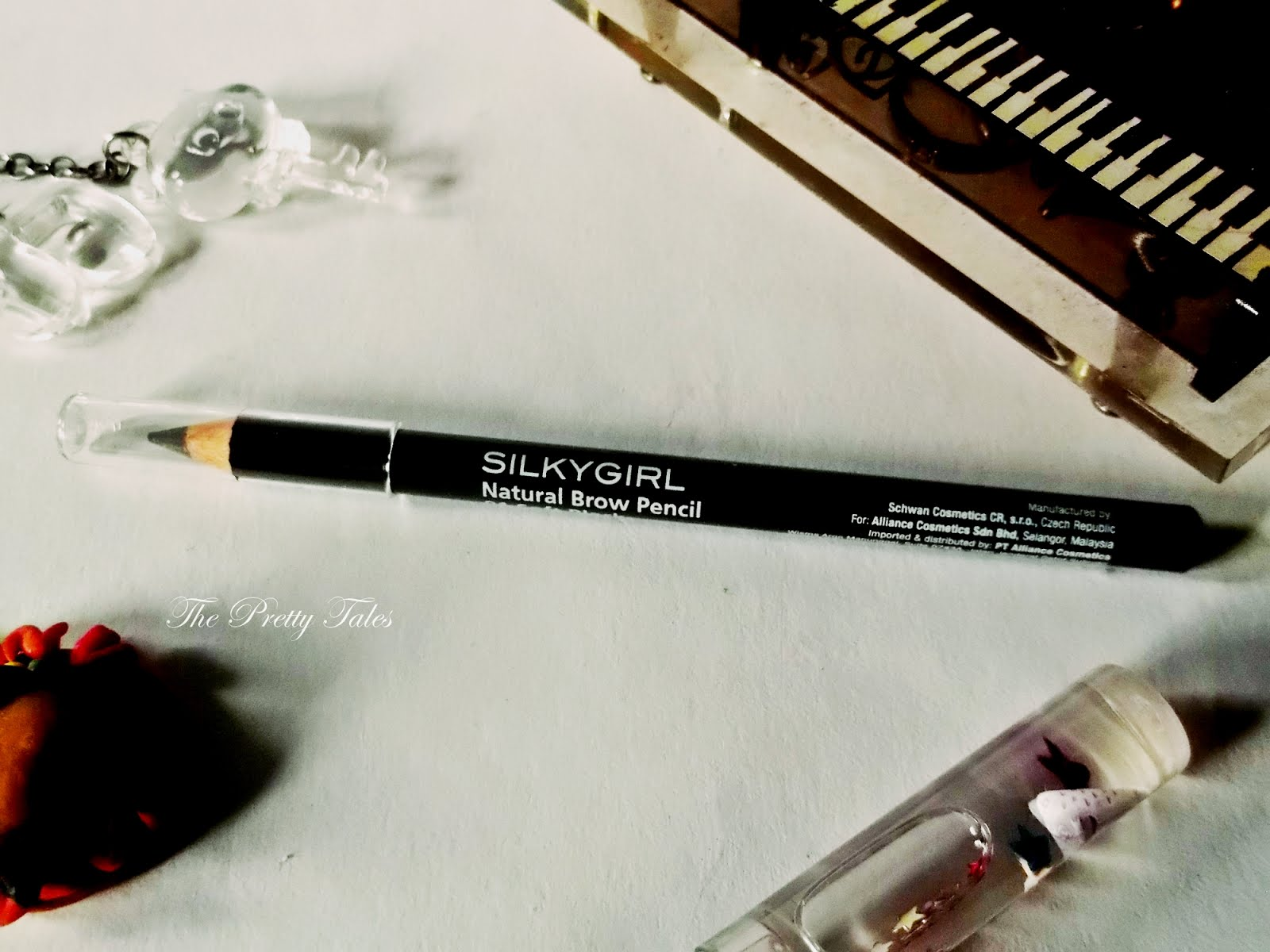 SILKYGIRL Natural Brow Pencil Review Soft Black