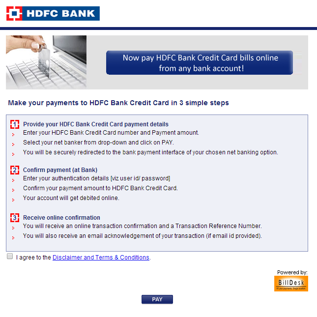 Hdfc online banking forex card