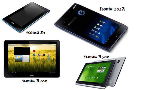jenis tipe tablet acer iconia