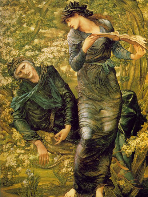 burne Jones Merlin