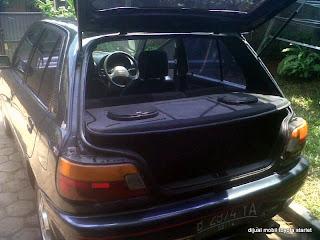 Mobil Toyota Starlet yang dijual