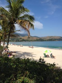 The beach at Maresias