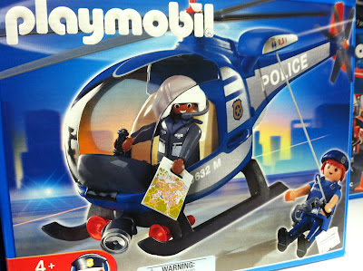 Playmobil rescue helicopter pilot