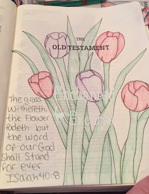 LAMPANDLIGHT, Bible Journaling, Bible, Instagram, Photochalenge,