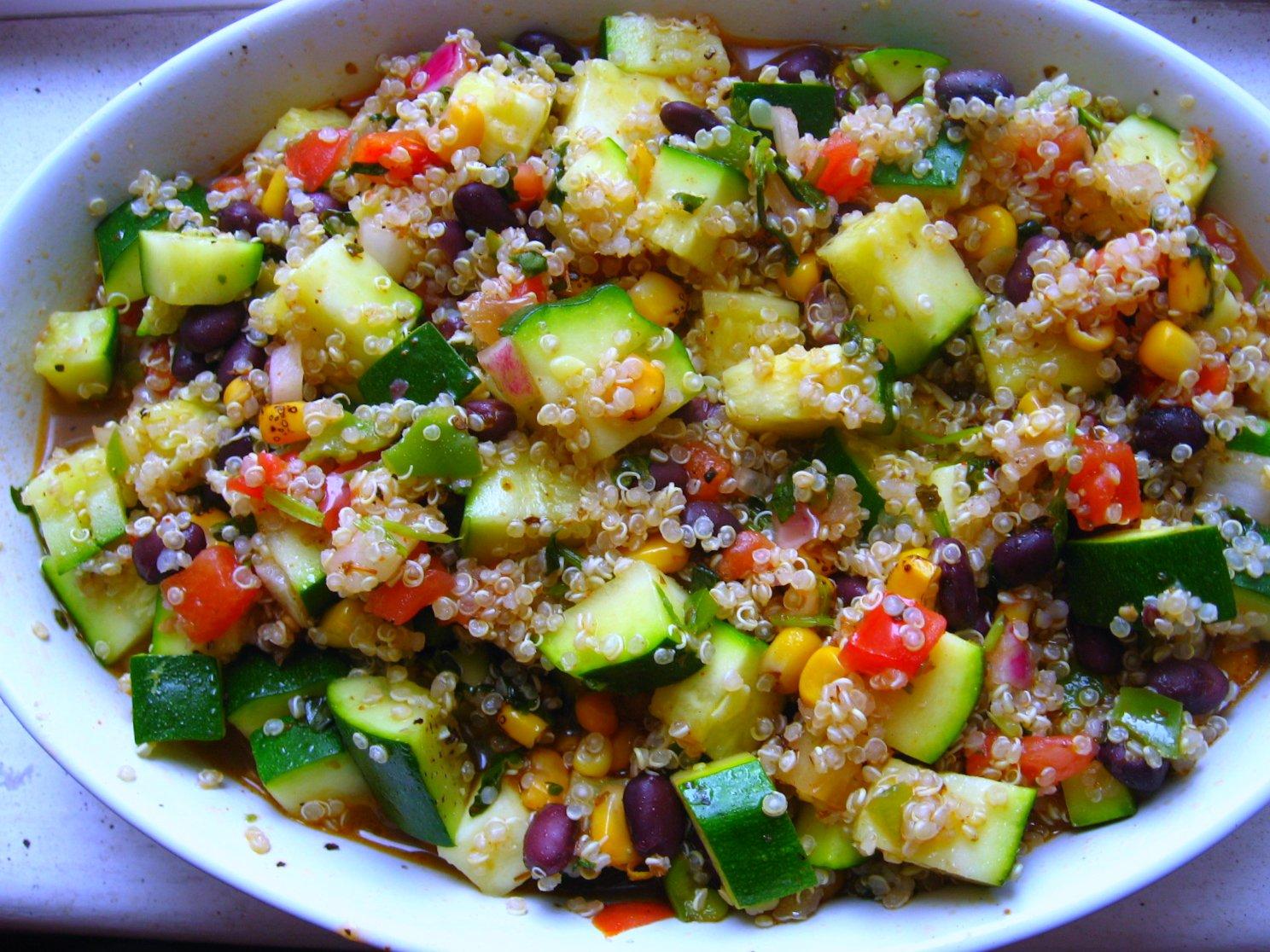 Graduate Gourmet: Mexican Quinoa Salad