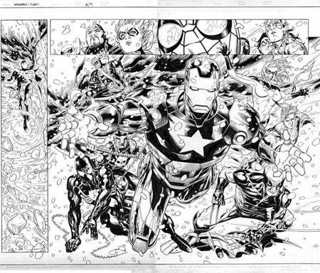 Avengers Color Pages