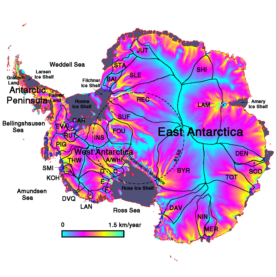 Southern Ocean Warming Impact On Antarctic Ice Sheet And Global - 4 oceans names