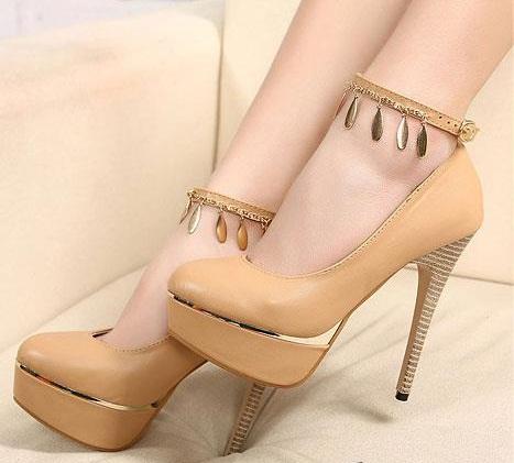 Halhallı şık bir ayakkabı