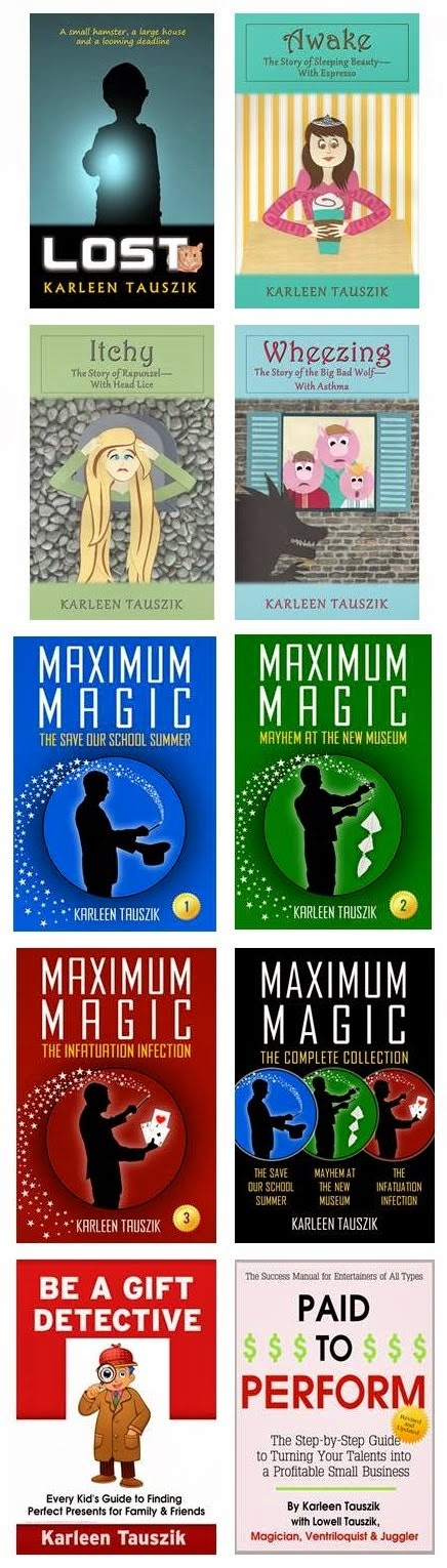 Karleen Tauszik is  the author of  e-books for Ages 8 - 12, all available at Amazon.com.
