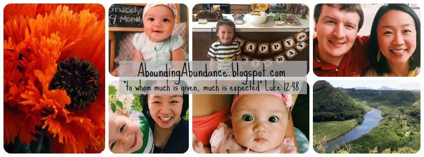 Abounding Abundance