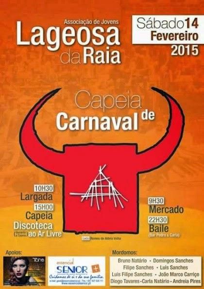 Lageosa da Raia(Sabugal)- Carnaval Taurino 2015