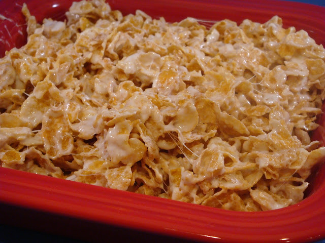 how to make frosted flakes treats
