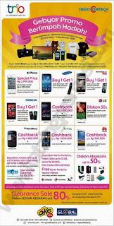 Oke Shop dan Global Teleshop Promo Indocomtech 2013