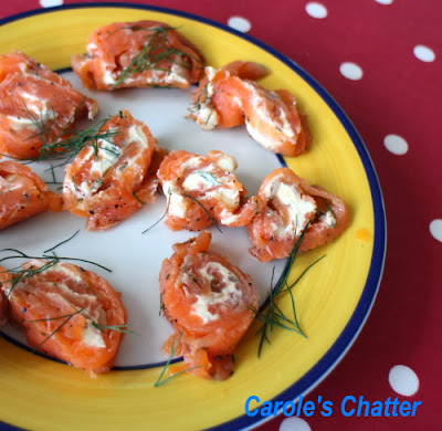 Salmon bites by Carole's Chatter