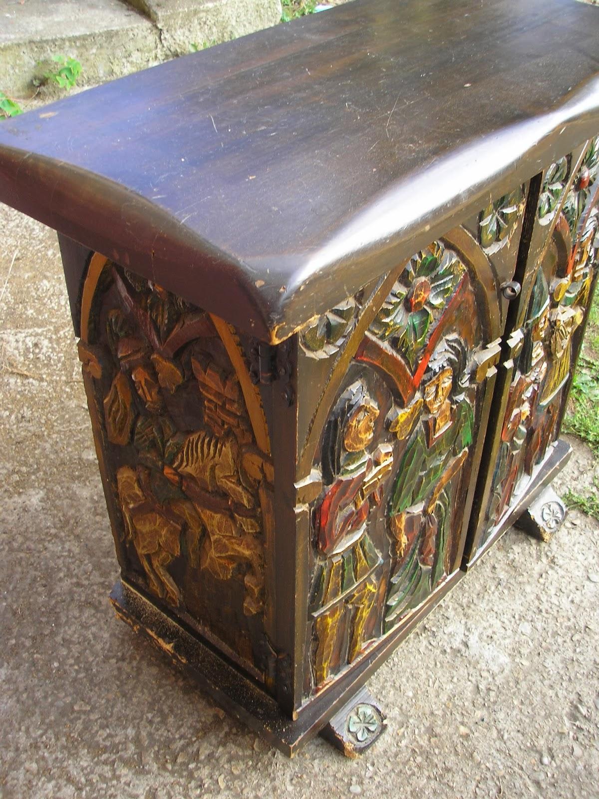 este mueble zapatero, con la esperanza de que se pudiera restaurar
