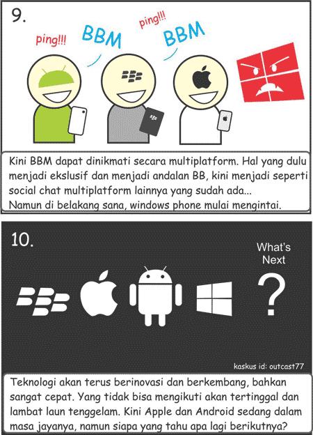 komik kartun bbm indonesia