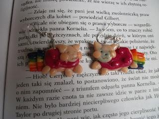 Kolczyki Nyan Caty z modeliny
