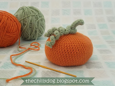 free crochet pumpkin bean bag pattern