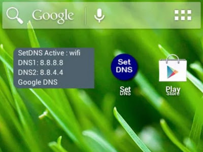setting dns android