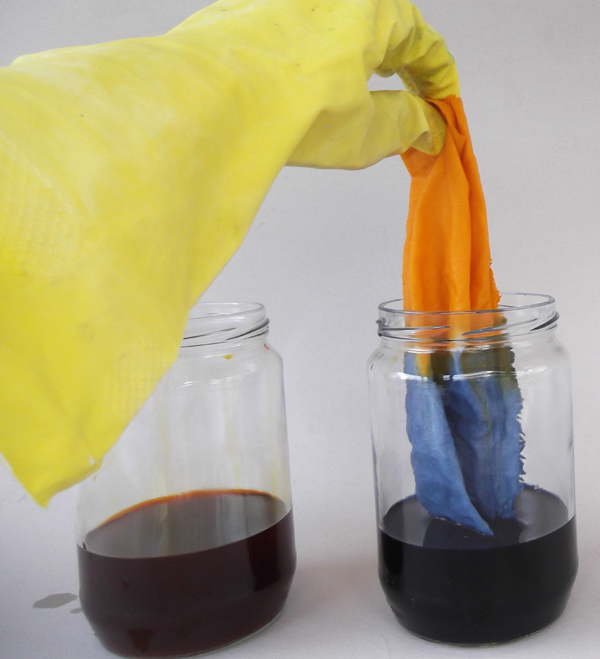 dip dyeing, fabric dyeing, textile dyeing, how to fabric dyeing,