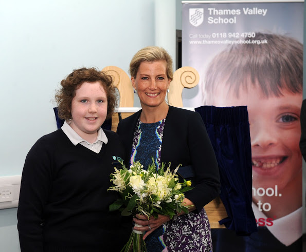 Countess Of Wessex Opened A School For Autistic Children