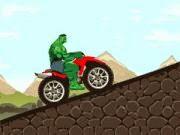 Khổng lồ xanh chơi moto bay, chơi game đua xe online