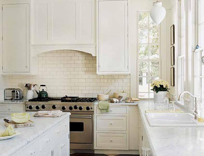 Desain Dapur Putih Dekorasi Dapur Rumah Minimalis Modern