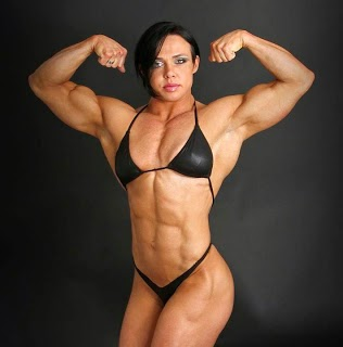 Yeah sexy body builder woman picture milky boobs!!!