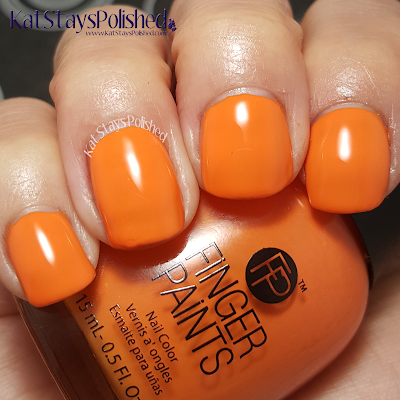 FingerPaints Tie Dye Revolution - Tie Dye Tangerine | Kat Stays Polished