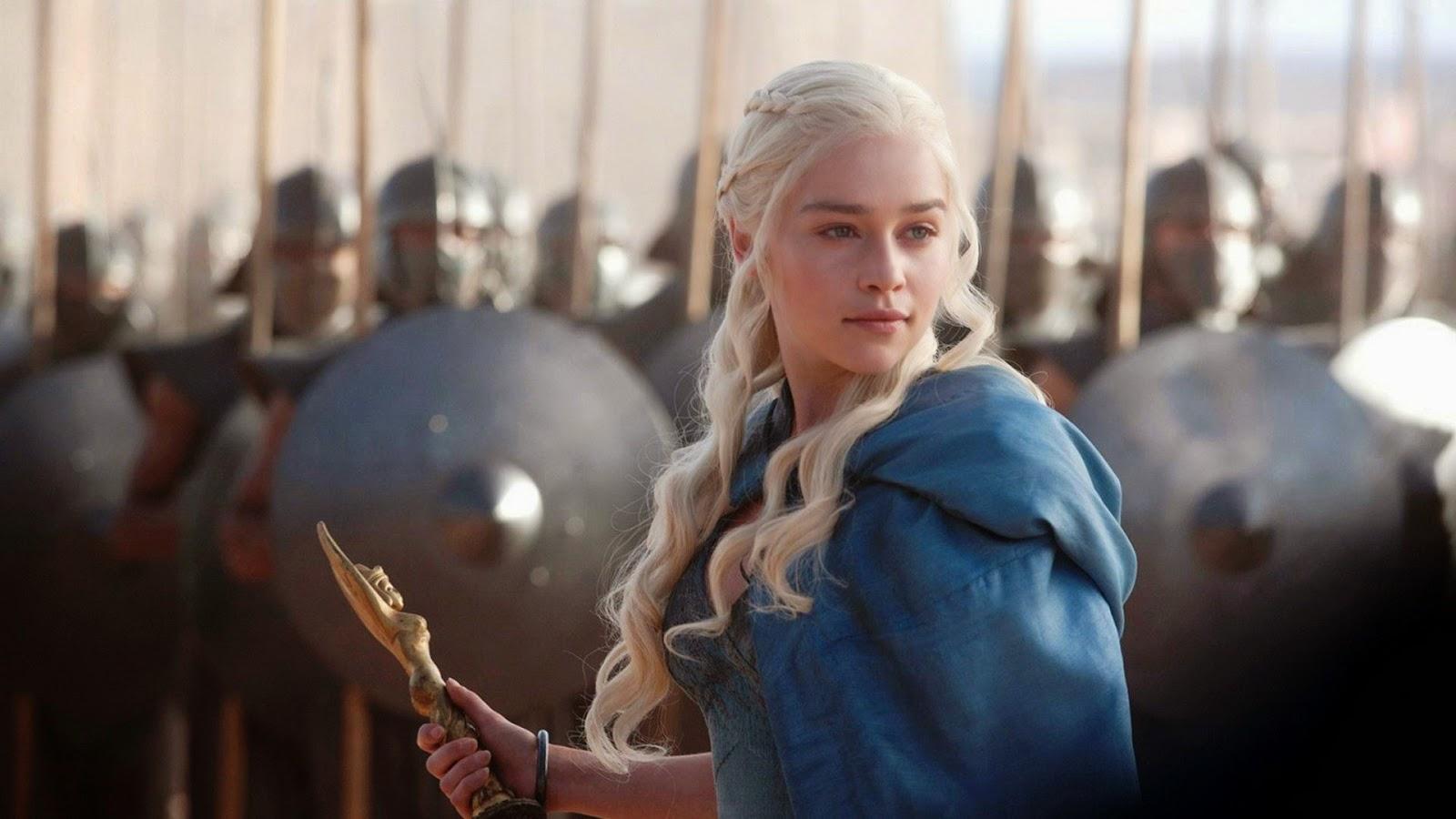 Daenerys immáron erős  hadvezérként