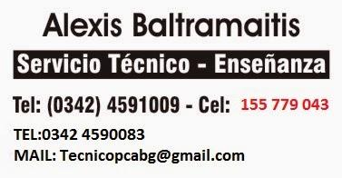 ABG INFORMATICA  - CLASES -SERVICIO TECNICO // REPARACION DE PC / CLASES INDIVIDUALES SANTA FE