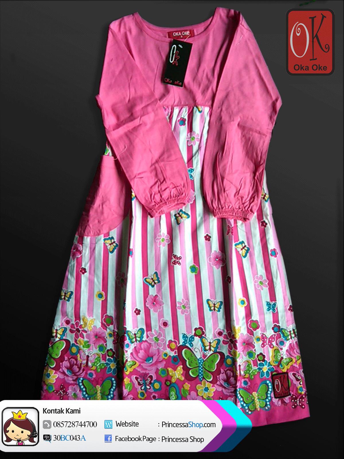 Contoh Baju Muslim Anak Anak Perempuan Terbaru