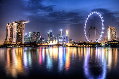 Mua vé máy bay đi Singapore giá rẻ - Clarke Quay