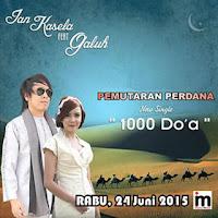 Download Lagu Ian Kasela Feat Galuh - 1000 Doa MP3
