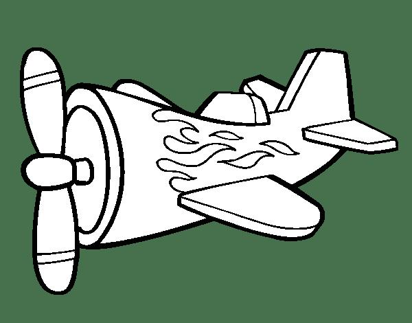 Dibujos para colorear maestra de infantil y primaria - Coloriage de avion ...