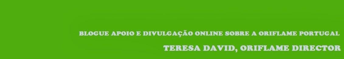 Apoio Oriflame Portugal - Teresa David