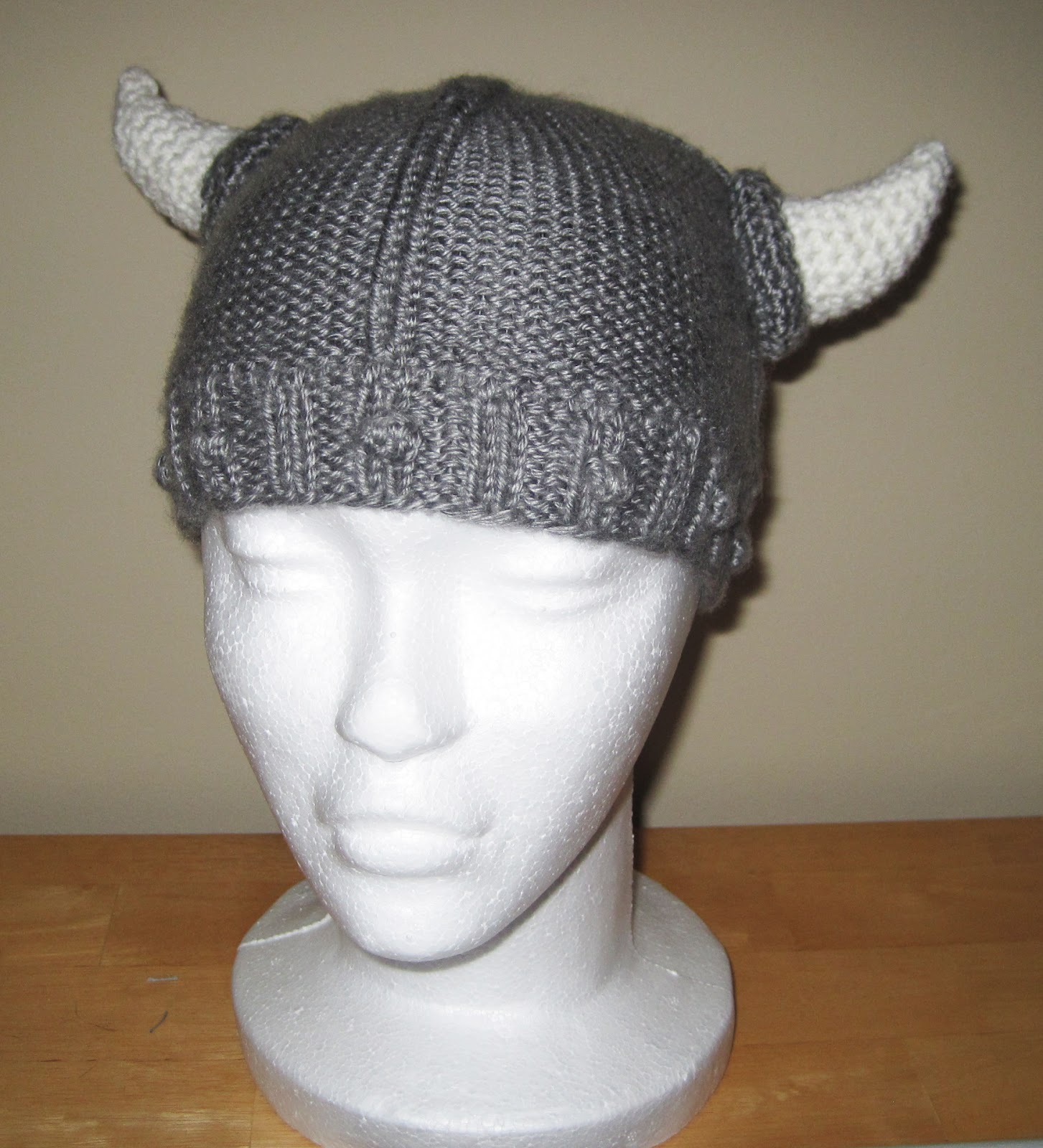 Free Crochet Patterns For Viking Hat : Probably Not Martha: The Viking Helmet: Part 2. The Pattern