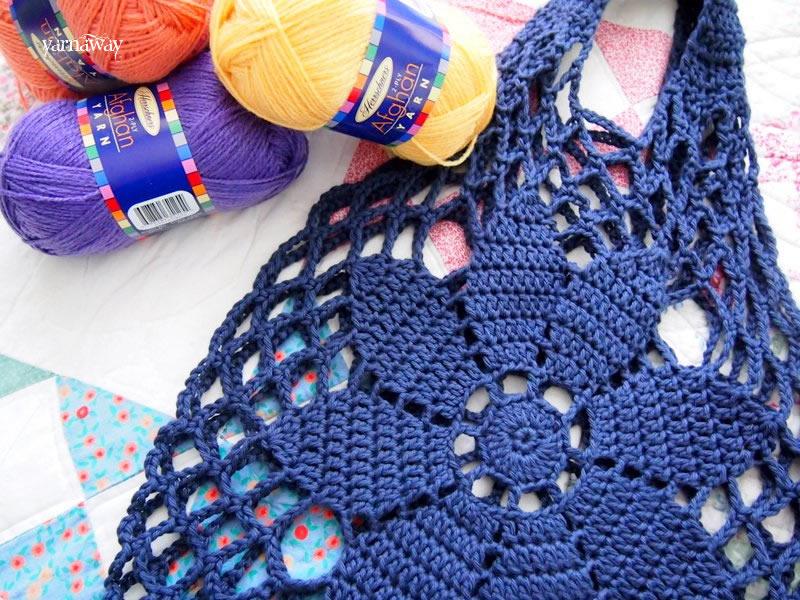 Holding The Bag Yarnaway A Crochet Scrapbook