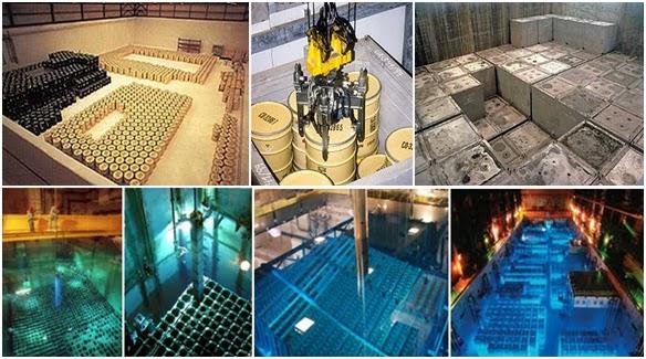 Resultado de imagen de Residuos radiactivos confinados en vidrio