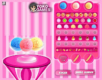 game yummy banana split Cooking Games