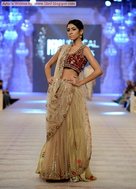 Misha Lakhani Bridal Collection in PFDC