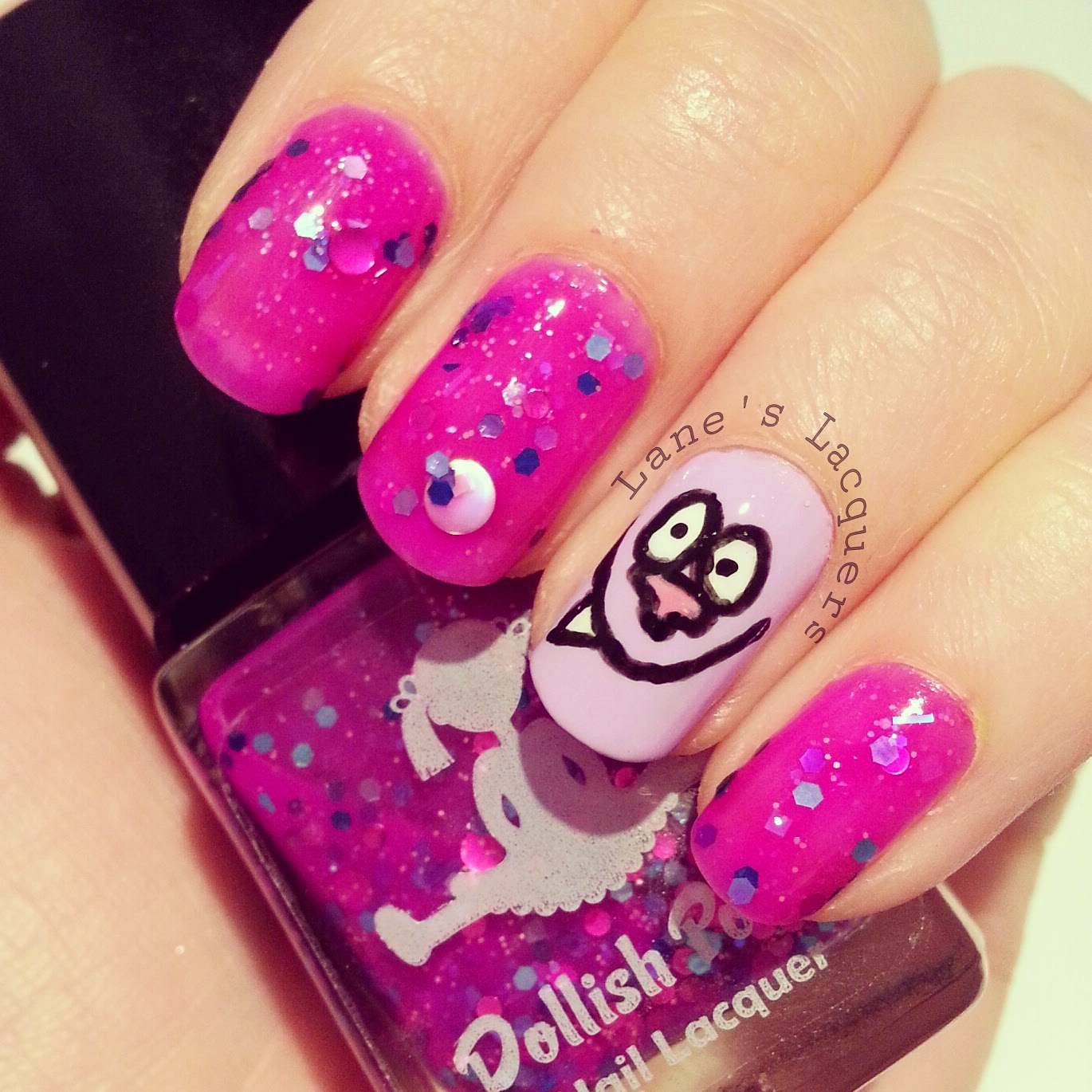 dollish-polish-purple-nurples-chowder-nail-art (2)