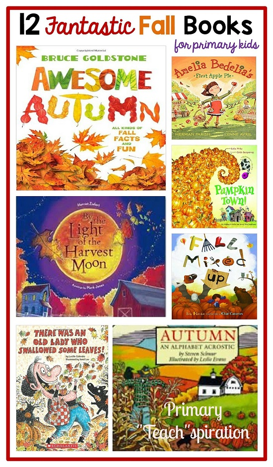 12 Fantastic Fall Books for Primary Kids and More Fall Fun - Primary ...
