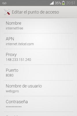 Internet Gratis Telcel para Whatsapp y Facebook 2014